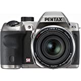 PENTAX X-5 Classic Silver dual high-speed camera