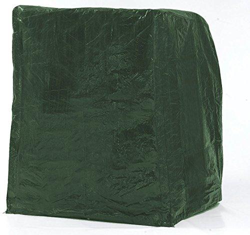 Strandkorb Schutzhaube für 2 Sitzer, Foliengewebe grün, ca. 130 x 90 x 163/132 cm jetzt kaufen