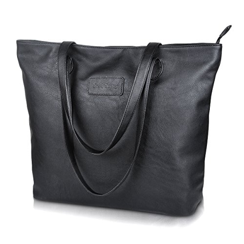 sunny-snowy-pu-leather-tote-bags-lightweight-shoulder-bag-large-handbags-for-womens-8014-black
