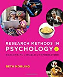Research Methods in Psychology: Evaluating a World of Information