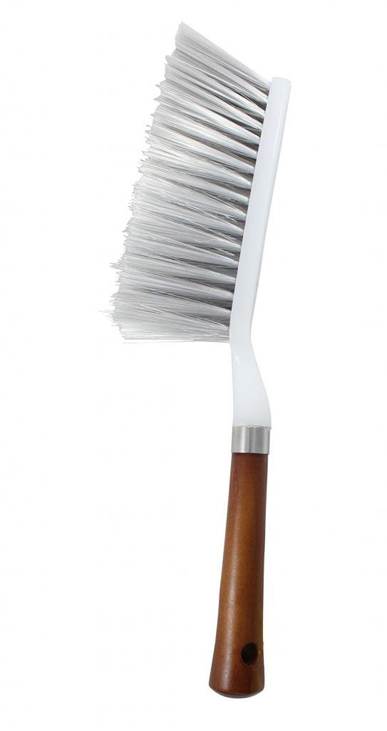 Vheelocityin 70076 Cleaning Brush with Hard and Long Bristles for Car Seat, Carpet and Mats