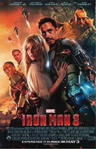 The Avengers Iron Man 3 Tony and Pepper 11 x 17 Movie Poster Litho and with FREE COMIC CON GIFT!