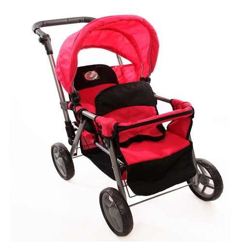 The New York Doll Collection Doll Twin Stroller Amazon.com