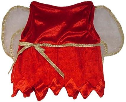 Red Velvet Fairy Costume Fits