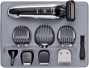 PHILIPS - QG3380/16 - Tondeuse multi-styles 8 en 1 - Fonctions barbe, moustache, oreilles, nez, tondeuse de précision, sabot barbe de 3 jours, tondeuse cheveux et corps