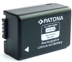 """Bundlestar * Batterie Quality pour Panasonic DMW BMB9 E avec puce Infos système intelligent de la batterie - 100% compatible """"nouvelle génération"""" - avec l'affichage du temps restant """"Pour Panasonic Lumix DMC FZ45 FZ48 FZ62 FZ72 et FZ100 FZ150 par exemple Leica V-LUX 3"""