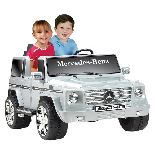 Toy Pedal Cars National Products 12v Black Mercedes Benz G Class