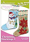 Anita Goodesign  Christmas Stockings 2  Embroidery Designs