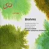 Johannes Brahms Brahms - Symphonies Nos 1 - 4; Double Concerto (LSO, Haitink)