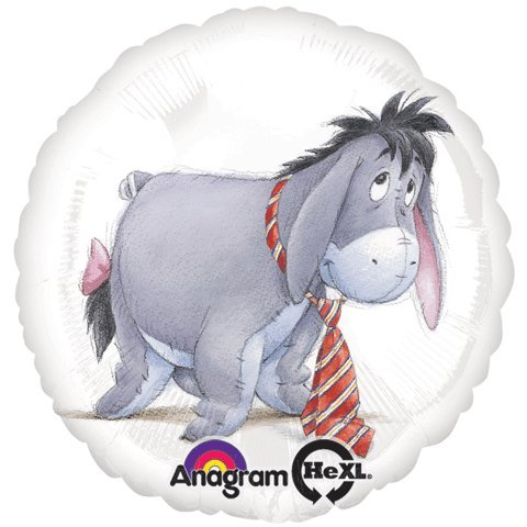 Eeyore With Balloons back-29932