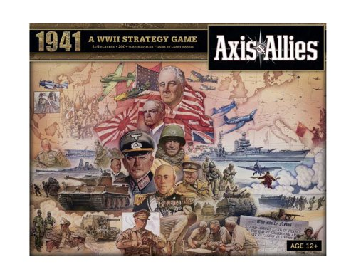 Axis and Allies 1941 Board Game