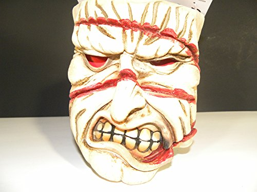 Scary Evil Tortured Zombie Latex Mask