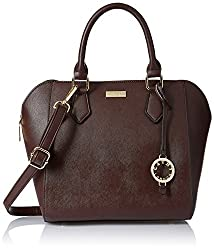 Cathy London Women's Handbag, Colour- Brown, Material- Synthetic Leather