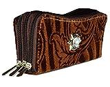 Magiq Women's Clutch (Brown) (31202)