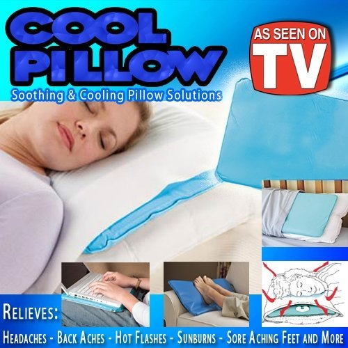 Buy Bargain Cold Chill Pillow Insert Pillow Sleeping Aid Pad Mat Muscle Relief As Seen On TV