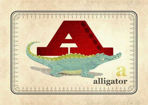 Alligator Nursery Decor