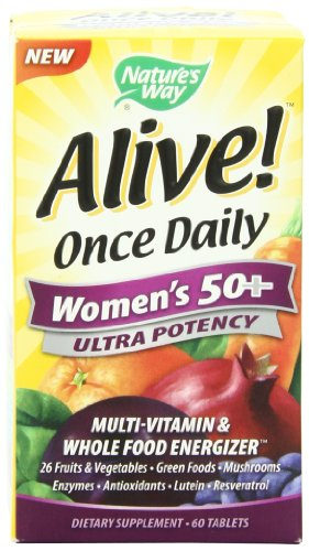 Nature's Way Alive Once Daily Women's 50+  Ultra Potency Multivitamin