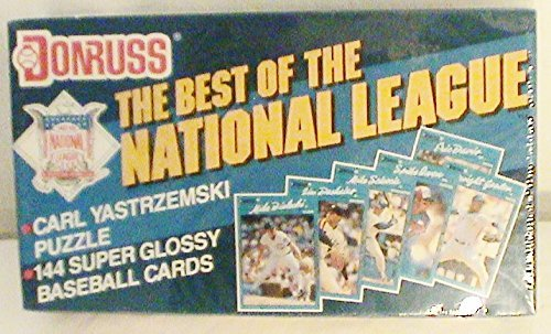 Don Russ Best of the National League Trading Cards with Carl Yastrzemski