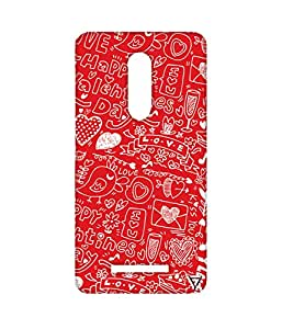 Vogueshell Valentines Day Pattern Printed Symmetry PRO Series Hard Back Case for Xiaomi Redmi Note 3