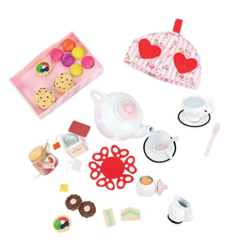 Our Generation Tea for Two Set for 18-Inch Dolls