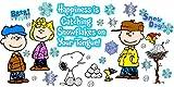 Eureka Peanuts Happiness is A Snowflake Bulletin Board Sets (847608)