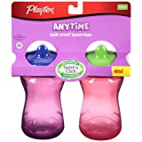 Playtex Playtex Baby Lil' Gripper Twist 'n Click 9 Ounce Spout Cup 2ct (Colors Vary)