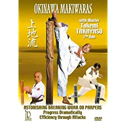 Okinawa Makiwaras with Takemi Takayasu