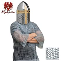 18 Gauge Chain Mail Shirt for Medieval Knight