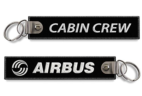 airbus-cabine-equipage-porte-cles-noir