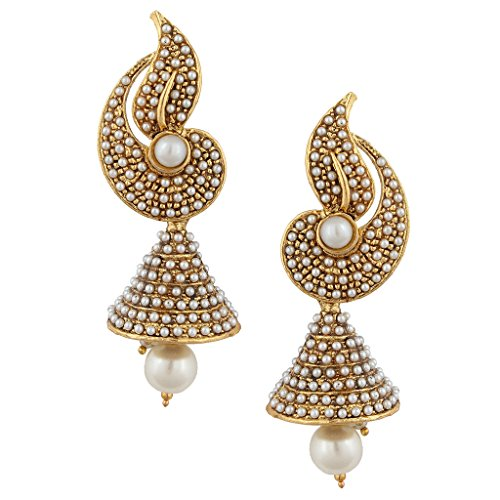 Pearl-flower-Indian-pearl-jhumka-jhumki-jewelry-earings-for-women-jhumkas-earrings