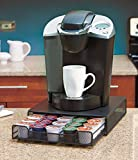 Keurig K Cup Holder Coffee Pod Organizer Storage Drawer. Neatly Organizes up to 30 K-cups and Other Brands