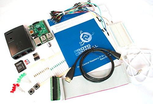 Raspberry Pi B+ Starter Kit - Embedded (Includes Raspberry Pi B+)