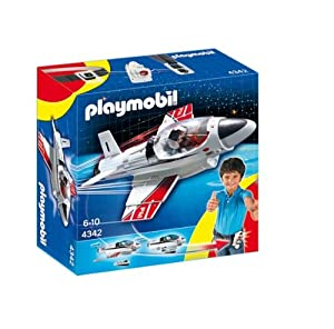 Playmobil 4342 Click and Go Jet