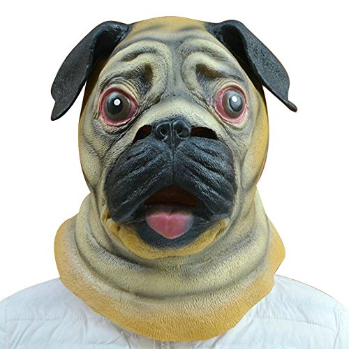 AutumnFall® Halloween Happy Dog Mask
