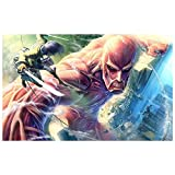 Poster4U Attack On Titan Anime Art Poster (Print, 12 inch x 18 inch, HD185)