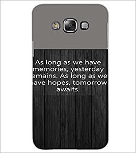 PrintDhaba Quote D-4721 Back Case Cover for SAMSUNG GALAXY GRAND MAX (Multi-Coloured)