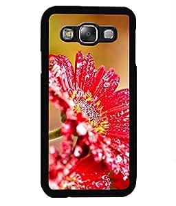 Crazymonk Premium Digital Printed Back Cover For Samsung Galaxy E7