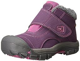 KEEN Kootenay WP Winter Boot (Toddler/Little Kid), Wineberry/Dahlia Mauve, 10 M US Toddler