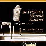 Zelenka: De Profundis; Miserere; Requiem (ZWV 50, 57 & 48) /Il Fondamento � Dombrechtby Jan Dismas Zelenka