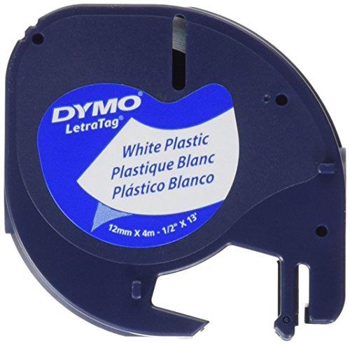 dymo-s0721610-nastri-letratag-plastica-nero-su-bianco