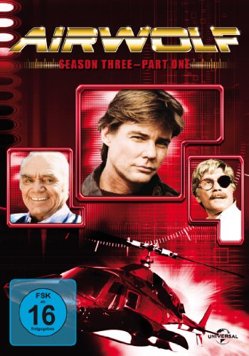 Airwolf - Season 3.1 [3 DVDs]