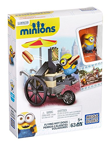 Mega Bloks Minions Flying Hot Dogs - 1