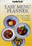 Family Circle Magazine Easy Menu Planner (Family Circle)