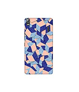 Kolor Edge Printed Back Cover For Lenovo A7000 - Multicolor (4388-Ke10142LenovoA7000Sub)