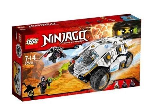 2016 LEGO Ninjago Titanium Ninja Tumbler 70588 - 51GQBU9c7FL - 2016 LEGO Ninjago Titanium Ninja Tumbler 70588
