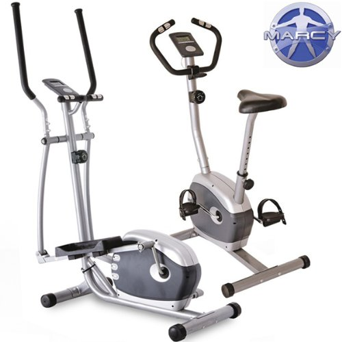 Marcy Magnetic Cross Trainer  &  Exercise Bike Package