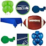 Super Bowl XLVIII Seattle Seahawks Party Pack For 18 Guests 71 Piece Set! by Super Bowl Party Supplies