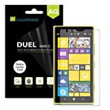 GreatShield DUEL Mark II Anti-Glare (Matte) Screen Protector with Lifetime Replacement Warranty for Nokia Lumia... by GreatShield