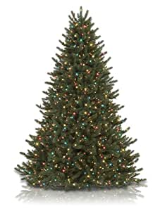 Vermont white spruce artificial christmas tree color clear
