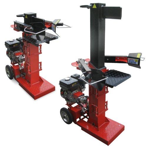 ROTENBACH-10-t-Benzin-Holzspalter-Brennholz-Spalter-Benzinmotor-Spaltkraft